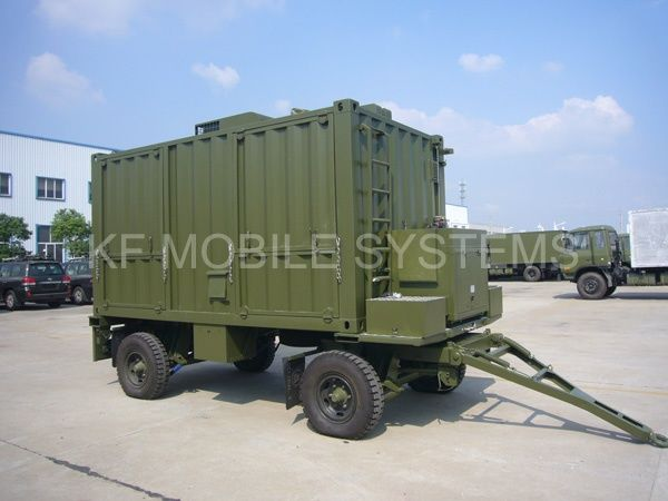 Military Shelter Services in China by KF Mobile Systems