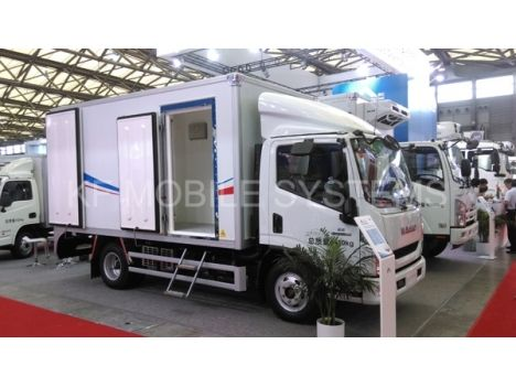 Light Duty Three Temperature Refrigerated TruckKFT5041XLC5C