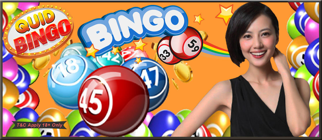 Quid Bingo - online bingo site UK play in personality - Delicious Slots