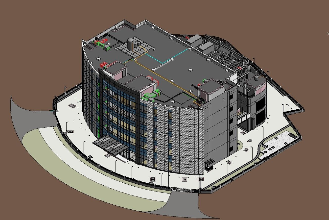 3D BIM MODELING AND CLASH DETECTION