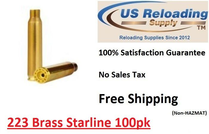 223 Brass Bulk with Free Shipping