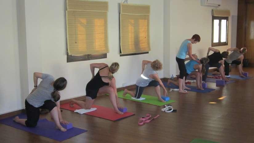 Yoga Center in Rishikesh | Yoga in India - Naturoville Spa