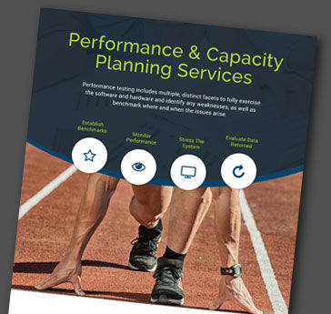 Capacity Planning Services enable Clients to Predict their Capacity Requirements