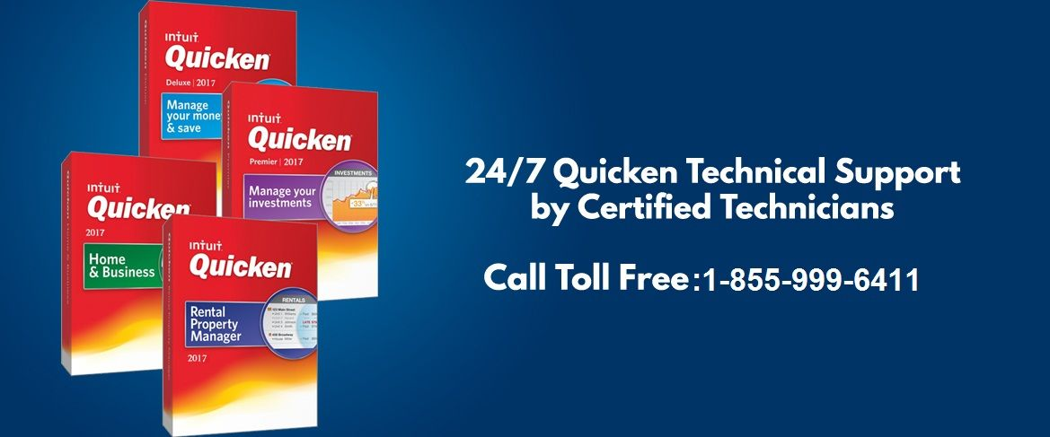 Quicken Support Number +18559996411