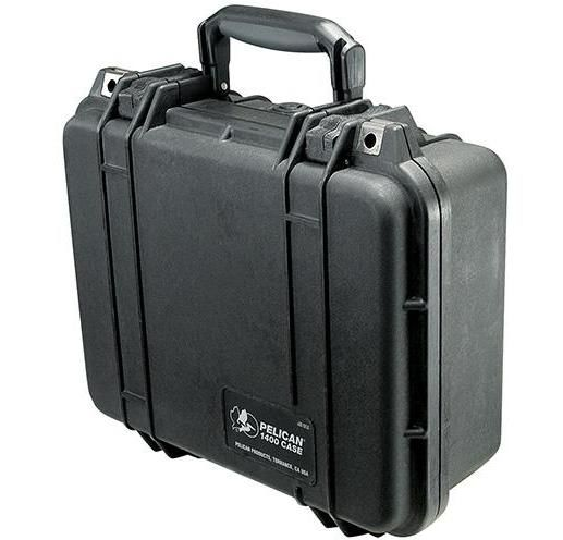 Buy Pelican 1400 Case With Foam - Black in Dubai at cheap price
