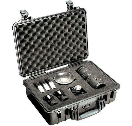Buy Pelican 1500 Case With Foam - Black in Dubai at cheap price