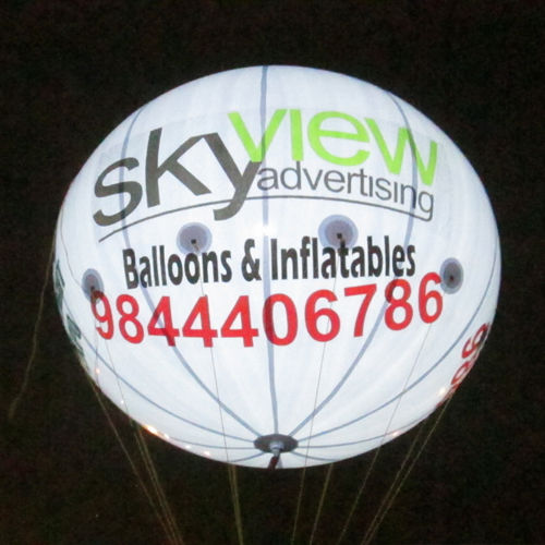 Light, Lit balloon Advertising and Manufacturer In Bangalore| Skyview Advertising