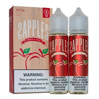 2APPLES E-Juice - 120ml ( 2x60ml ) - Wholesale Vapor Supplies