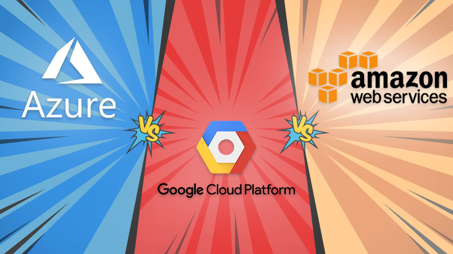 Important differences between AWS vs Azure vs Google Cloud