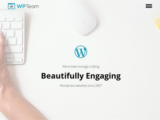 Our team of WordPress Developers & WordPress Designers Eat Sleep & Breath Everything WordPress and have done since 2007! Speak to a Wordpress developer now.