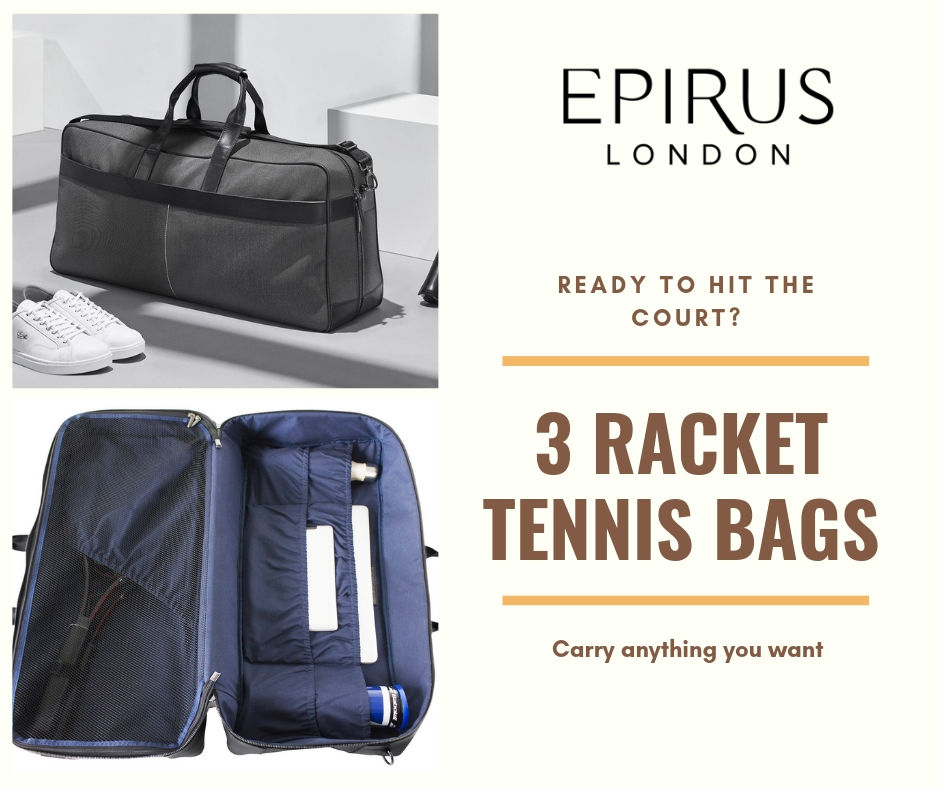 How To Choose A Right Tennis Bag Which Suits Your Personality?