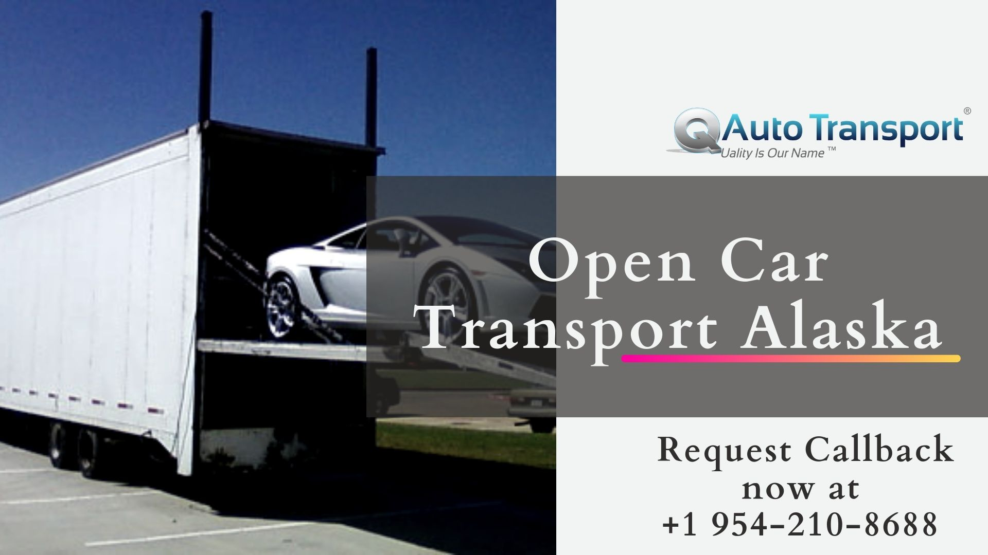 Open Car Transport Alaska