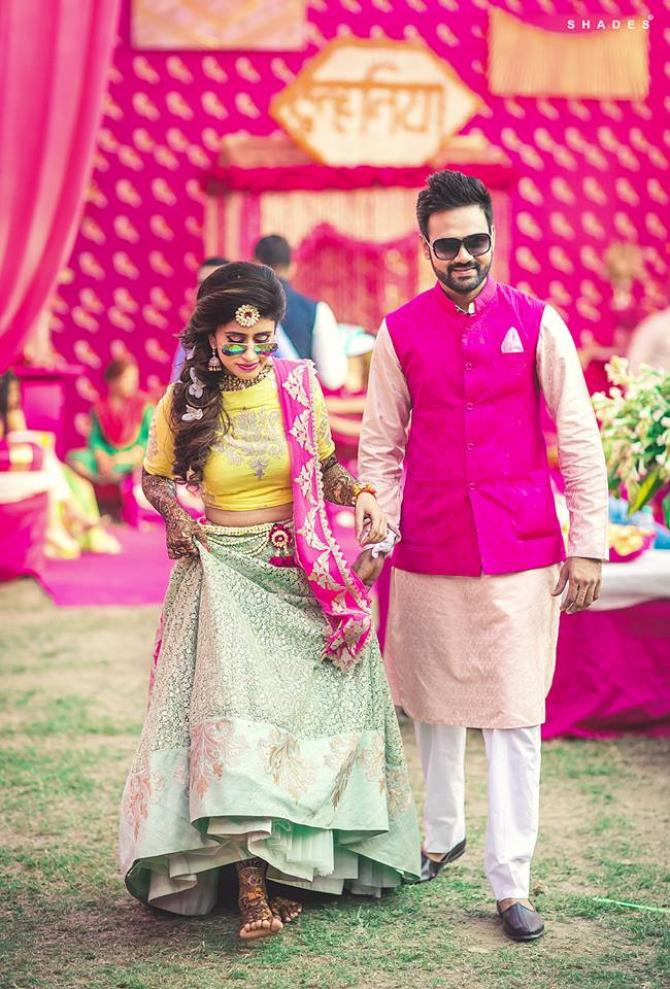 Pink Has Always Been The Statement For Brides, This Time It's For The Grooms! - Mom Bloggers Club