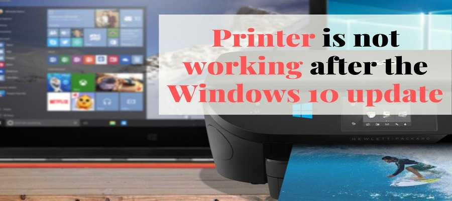 Printer not working after Windows 10 update