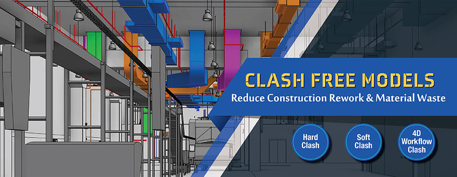3 Types of 3D BIM Clash Detection Have Their Own Importance | Hitech