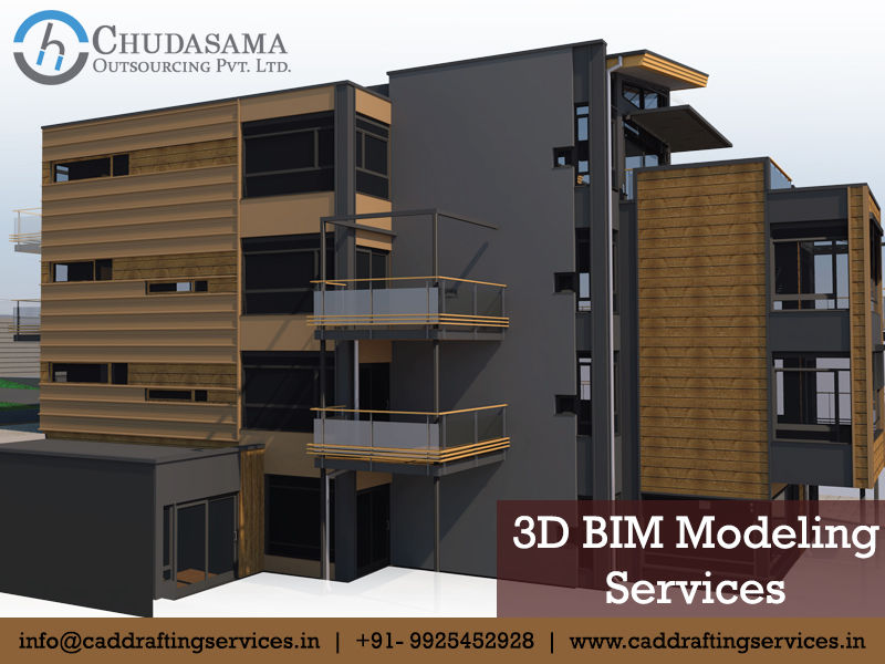3D BIM Modeling | Revit BIM Models | Structural BIM Services - Chudasama Outsourcing
