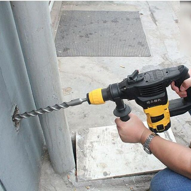Drill into Concrete like a Pro