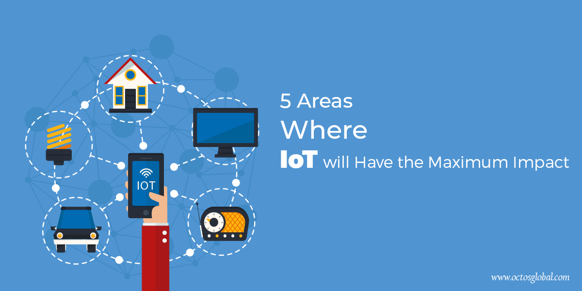 5 Areas Where IOT will Have the Maximum Impact