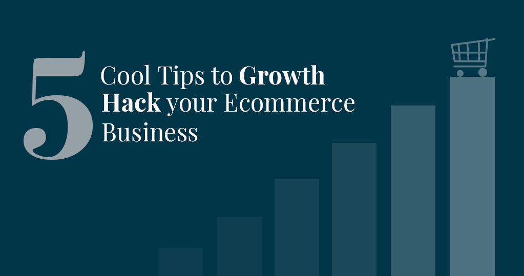 5 Cool Tips to Growth Hack your Ecommerce Business