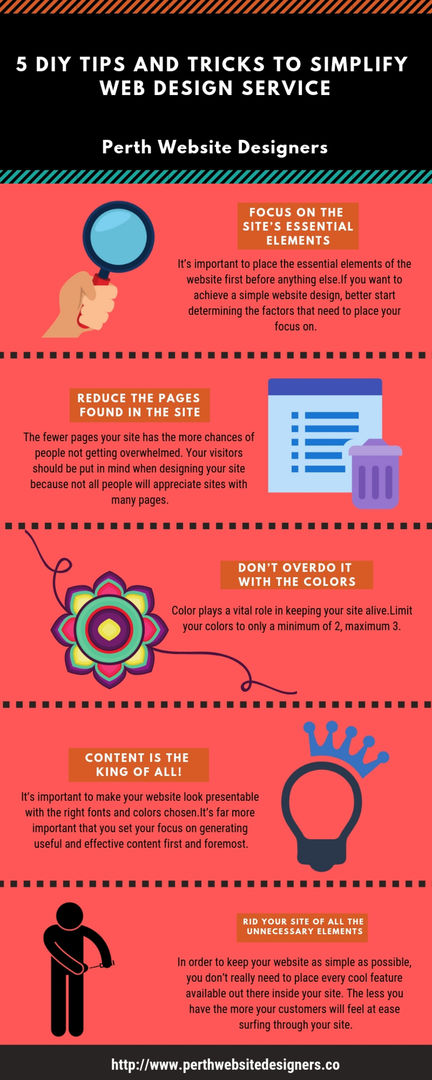 5 DIY Tips and Tricks to Simplify Web Design Service_Website Designers Perth