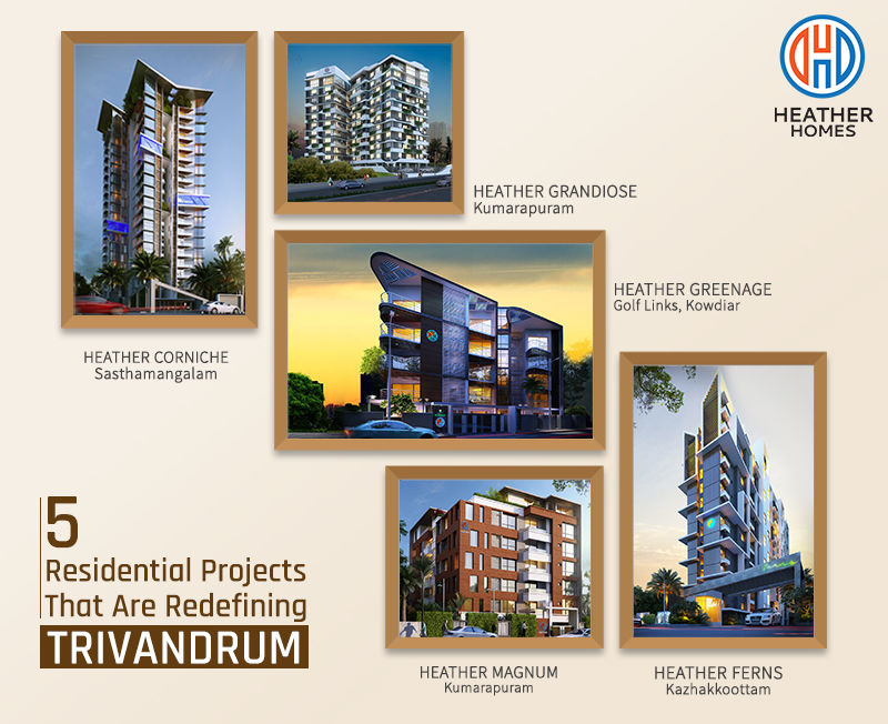 Top 5 Apartments in Trivandrum | Flats in Trivandrum - Heather Homes