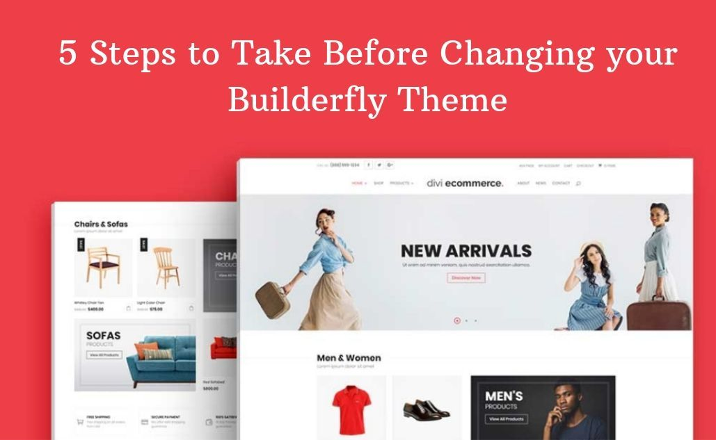 5 Steps to Take Before Changing your Builderfly Theme
