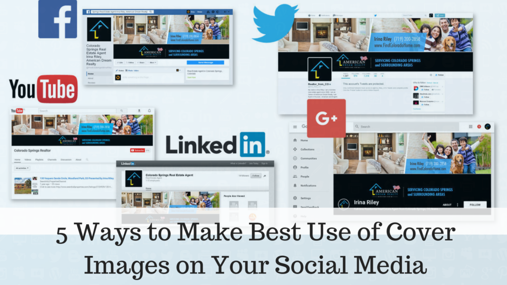 5 Ways to Make Best Use of Cover Images on Your Social Media Profiles | GenuineLikes | Blog