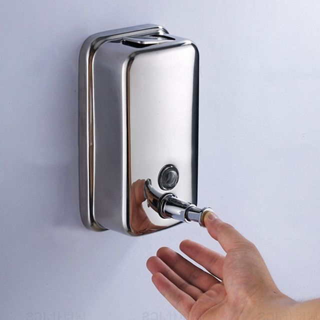 Hassle Free Hand Washing With Wall Mounted Soap Dispenser
