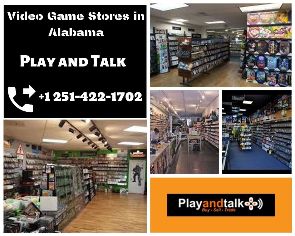 Video Game Stores in Alabama