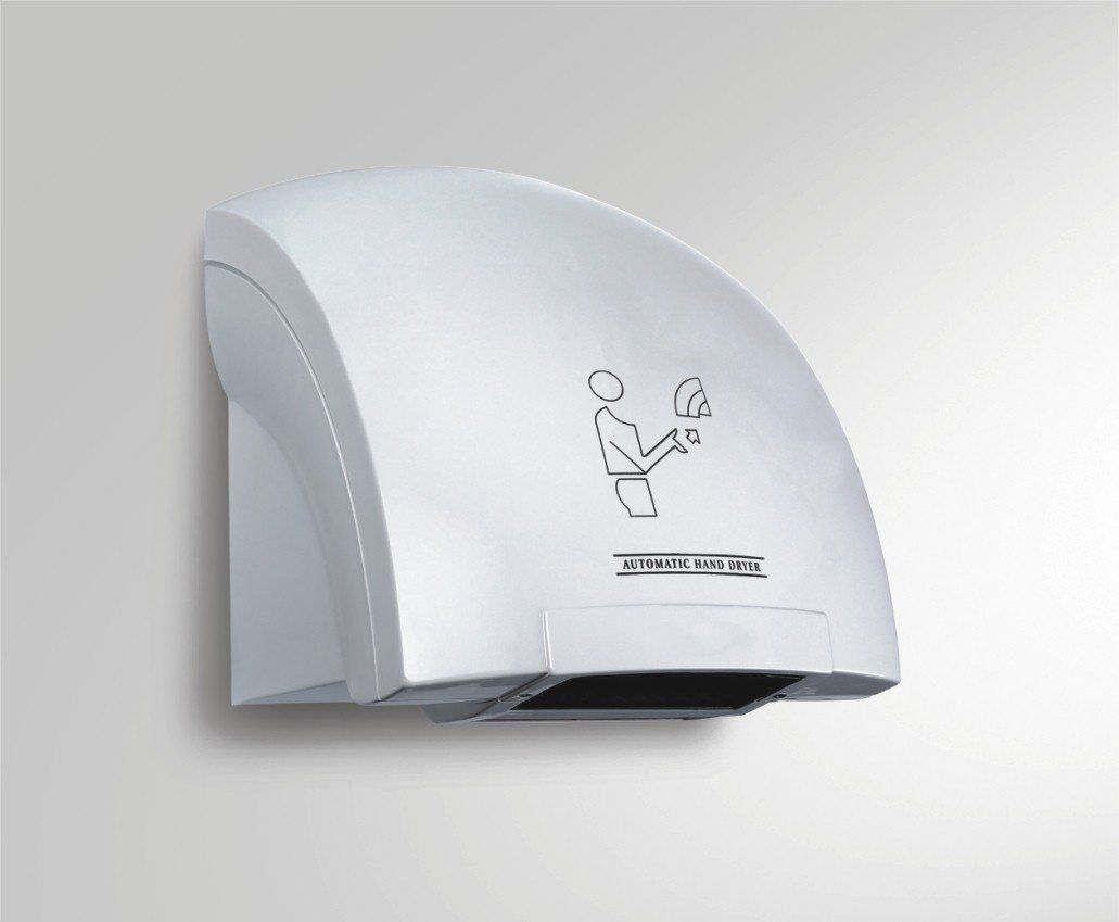 Using Automatic Hand Dryers
