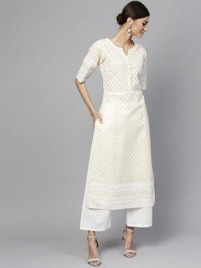 kurta palazzo set online for Fashion Women
