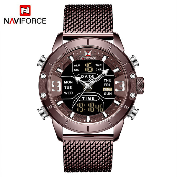 Naviforce NF9153 Male Military Watch with Zinc alloy Case