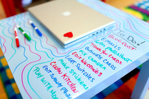 Things to Do with Dry-Erase Markers
