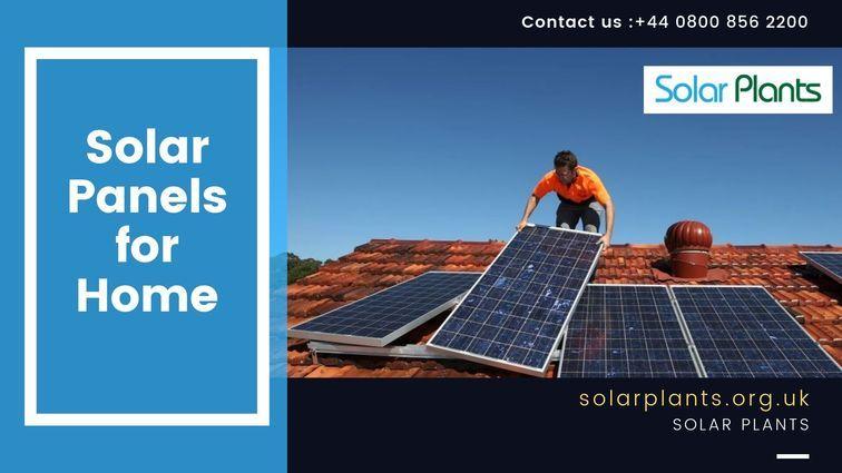 23: Solar Panels for Home - solarplants