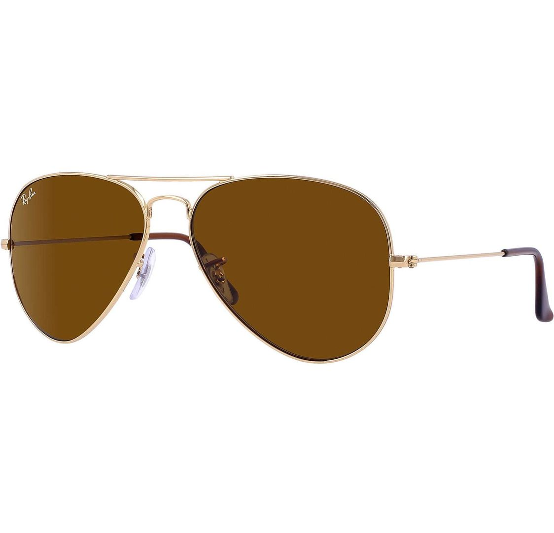 Buy Ray-ban Avaitor Classic Gold/crystal Brown Lens in Dubai at cheap price