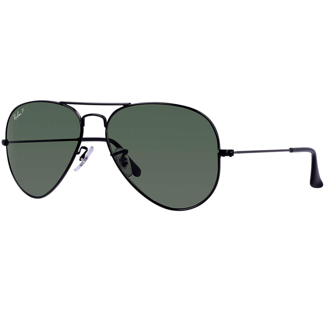 Buy Ray-ban Avaitor Classic Black/green Classic Lens in Dubai at cheap price