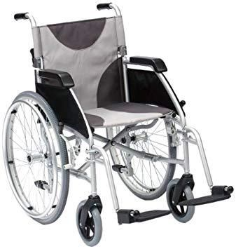 Using A Lightweight Wheelchair For Mobility