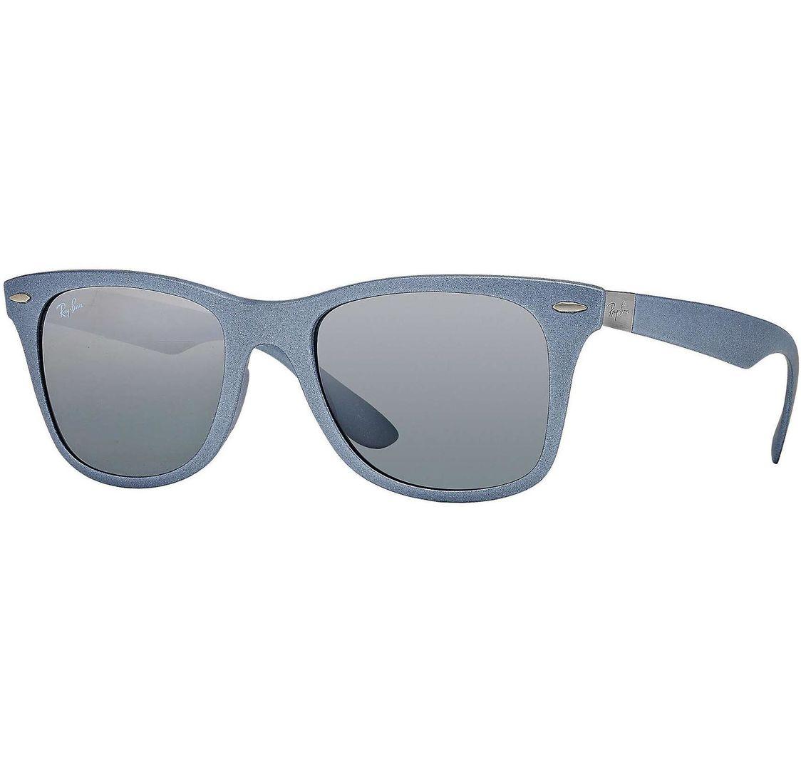 Buy Ray-ban Wayfarer Liteforce Silver Grey/grey Gradient Mirror Lens in Dubai at cheap price