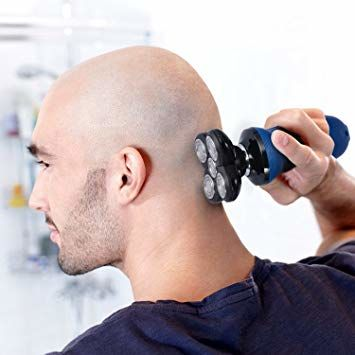 Electric or Manual Head Shaver