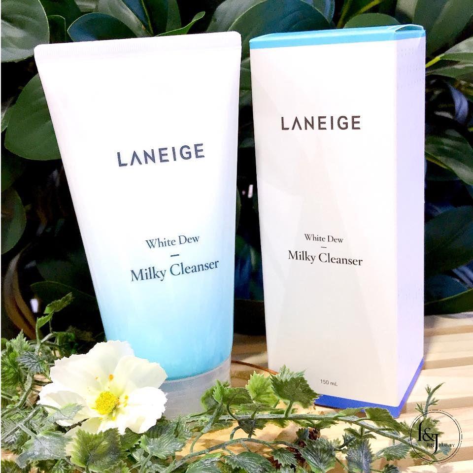 Laneige White Dew Milky Cleanser - Vhiezca Store