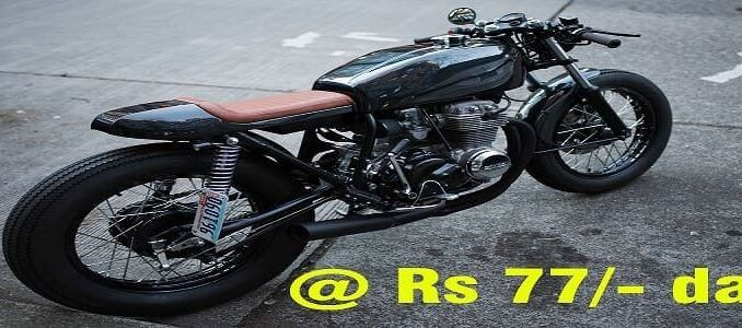 Purchase your Dream Bike @Rs 77/- day | HDFC Bank Offer