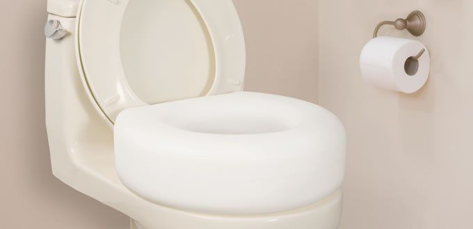 Raised Toilet Seats and More
