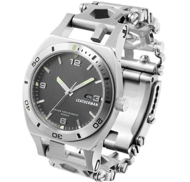 Buy Leatherman Tread Tempo Stainless Watch in Dubai at cheap price