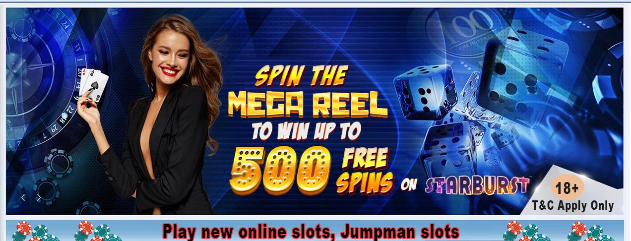 Play new online slots, Jumpman slots - deliciousslots