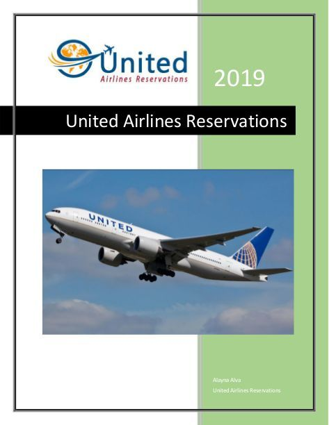 Contact United Airlines Reservations For Discounted Airfares