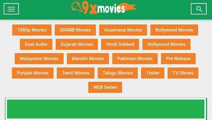 9xmovies 2019 - Download Bollywood, Hollywood Hindi Dubbed Movies