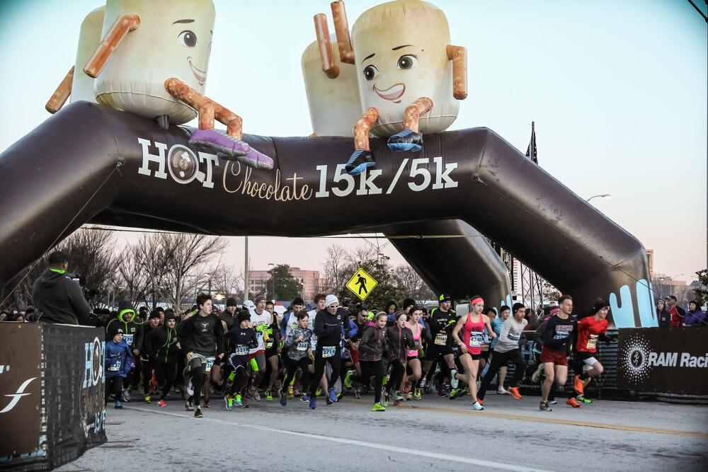 Hot Chocolate 15k/5k Nashville