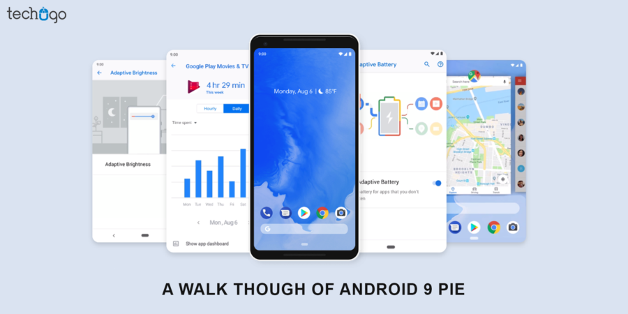 A Walk Though Of Android 9 Pie | Android application development