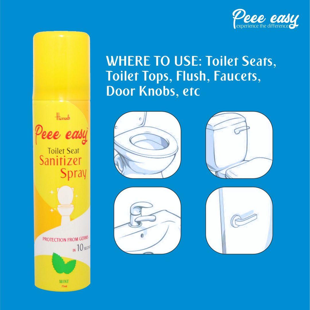 Uses Of Pee Easy Toilet Seat Sanitizer