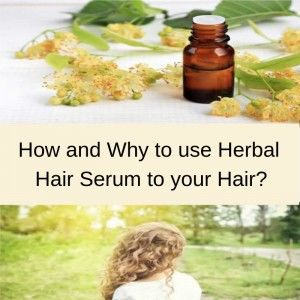 Use Natural or Herbal Hair Serum to get Shiny Hair Naturally